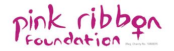 Logo organizacji charytatywnej The Pink Ribbon Foundation