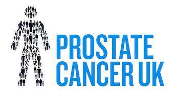 Logo organizacji charytatywnej Prostate Cancer UK